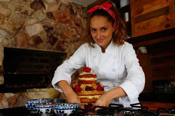Naked cake diet, proposta do Ateliê Mãe e Filha: para comer com os olhos (Bruno Peres/CB/D.A Press)