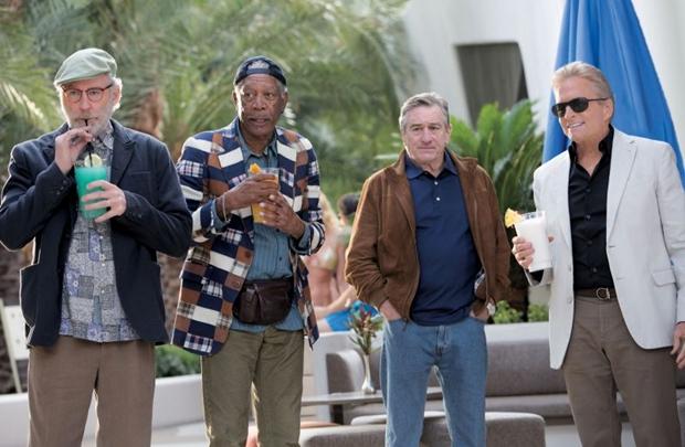Kline, Freeman, De Niro e Douglas: quarteto premiado (Paris Filmes/Divulgação)