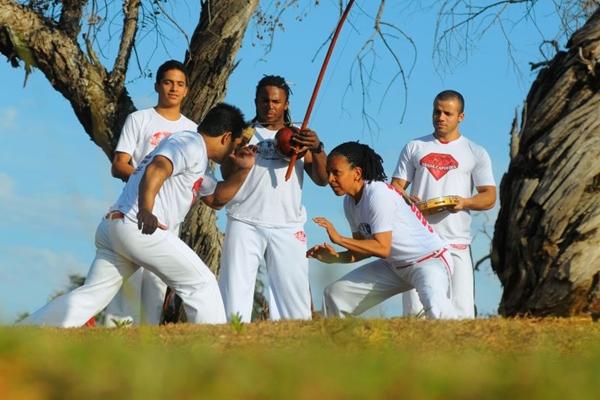 Roda de capoeira no Pontão: arte marcial nasceu a céu aberto  (Janine Moraes/CB/D.A Press)