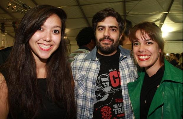 Maria Eduarda Cintra, Bruno Duarte e Ana Cecilia Paranagua (Lula Lopes/Esp. CB/D.A Press)