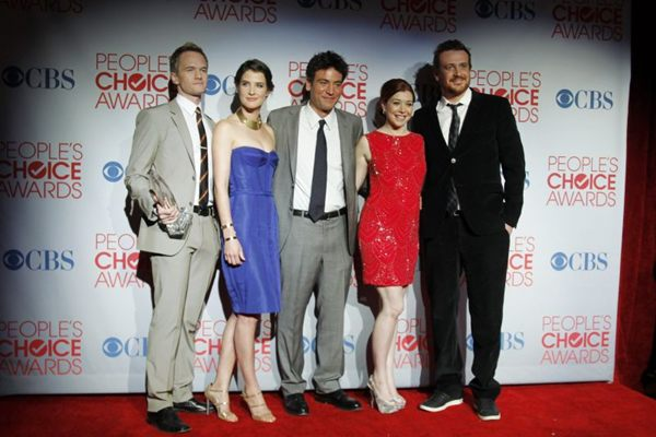 Elenco da série How I Met Your Mother ( Danny Moloshok/Reuters - 12/1/12)