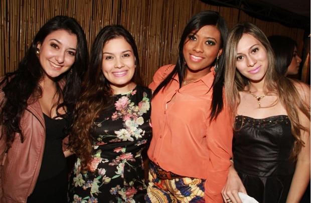 Lisandra Leite, Wanessa Faria, Rebecca Vila Nova e Pollyanna Rocha (Lula Lopes/Esp. CB/D.A Press)