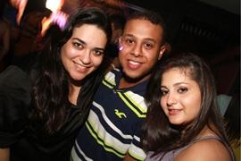 Talita Carvalho, Bruno Rafael e Thalita Araujo, na Vic (Lula Lopes/Esp. CB/D.A Press)