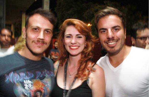 Lucas Miranda, Marcela Samorano e Miguel Marinho (Lula Lopes/Esp. CB/D.A Press)