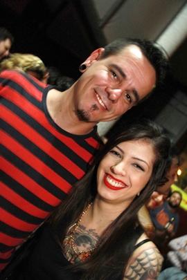 DJ Weirdo e Drika Peixoto (Lula Lopes/Esp. CB/D.A Press)
