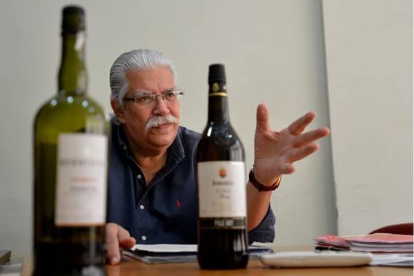 Antonio Duarte, da ABS: 'espumante pode ir bem até com feijoada' (Gustavo Moreno/CB/D.A Press)