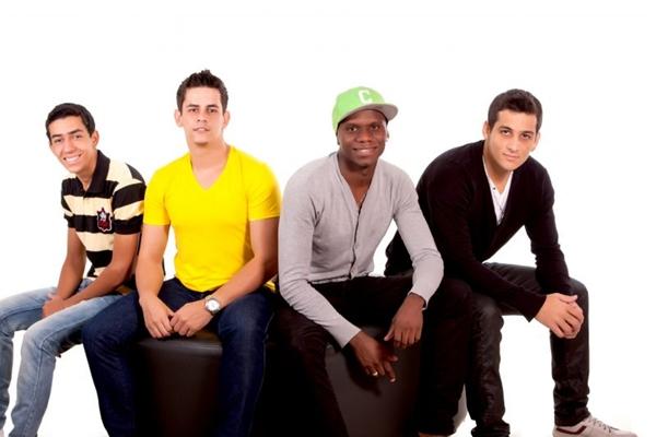 Os rapazes do grupo Di Propósito se apresentarão no Réveillon Privilege ( Elisangelo Bonfim/Divulgação)