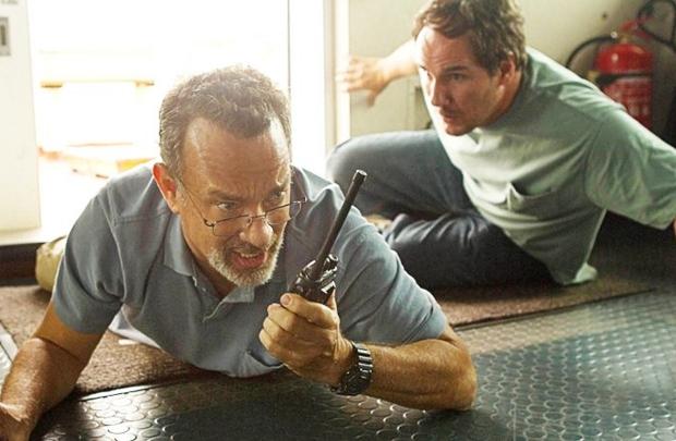 Na pele do capitão Phillips, Tom Hanks foi indicado ao prêmio de melhor ator nos SAGs (Sony Pictures/Divulgação)
