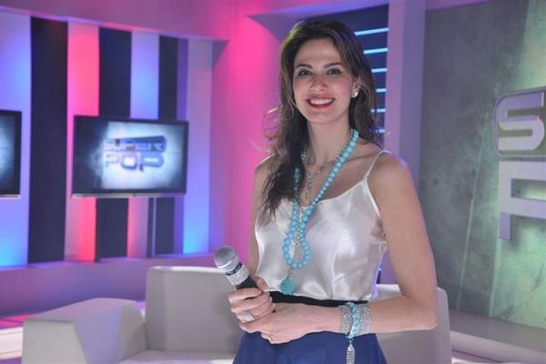 Apresentadora do Superpop, Luciana Gimenez esteve na festa da emissora (Wayne Camargo/Divulgação)
