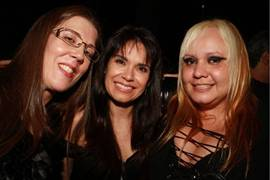 Adriana Maffia, Daniela Rocha e Fabiola Cristina ( Lula Lopes/Esp. CB/D.A Press)