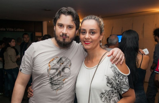 Fábio Afonso e Helena Faria (Felipe Menezes/Divulgação)