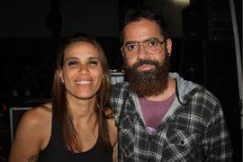 Michelle Abu e Magno Vitor, no show de Marcia Castro ( Paula Pratini/Divulgação)