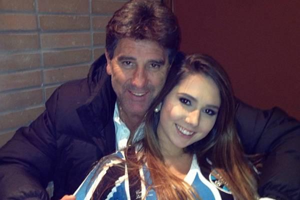Carolina Portaluppi é filha do ex-jogador Renato Gaúcho (Reprodução/Facebook@Carolina Portaluppi)