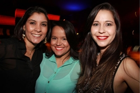 Rafaela Correia, Rafaela Feliciano e Camila Andrade (Lula Lopes/Esp. CB/D.A Press)