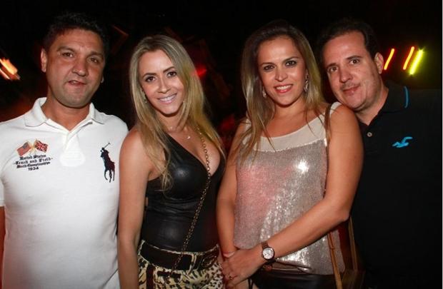 Eraldo Gomes, Patricia Diniz, Patricia Amorim e Renato de Paula (Lula Lopes/Esp. CB/D.A Press)