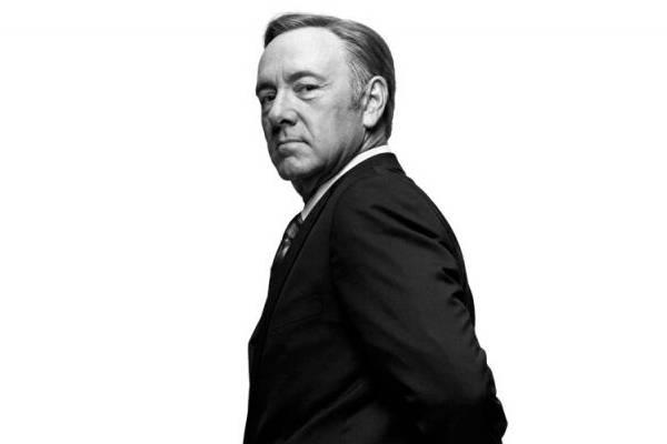 Kevin Spacey é ator e produtor do sucesso House of cards ( Netflix/Divulgação)