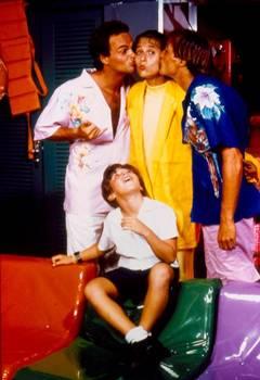A relação dos protagonistas também era tema da série (TV Globo/Divulgação)