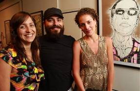 Susanna Aune, Vava Afioune e Luna Vargas (Lula Lopes/Esp. CB/D.A Press)