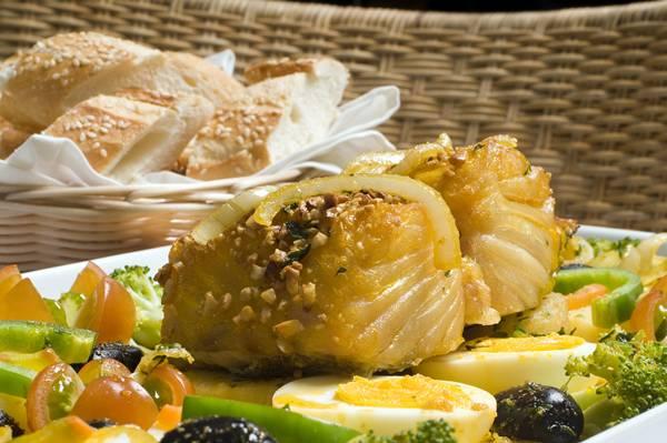 Bacalhau Delícia é o carro chef do Bier Haus (Telmo Ximenes/Divugação)