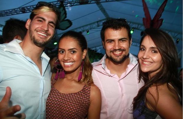 Victor Lahud, Kissila Vieira, Pedro Costa e Patricia Giacomazzo (Lula Lopes/Esp. CB/D.A Press)