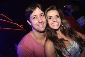 Leandro Oliveira e Tatiana Cunha ( Lula Lopes/Esp. CB/D.A Press)