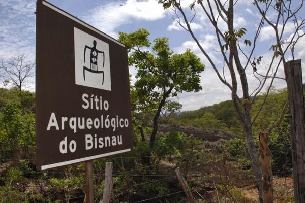 Local é procurado por estudantes, pesquisadores e outros interessados em arqueologia  (Cadu Gomes/CB/D.A Press)
