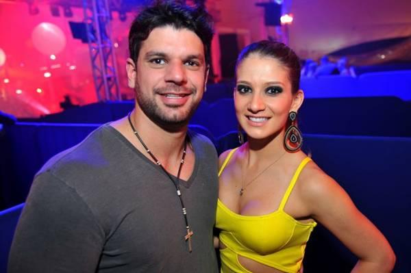 Paulo Rechden e Isabela Zago durante o Winter Federal Music, no Centro Comunitário Athos Bulcão (Luis Xavier de França/Esp. CB/D.A Press)