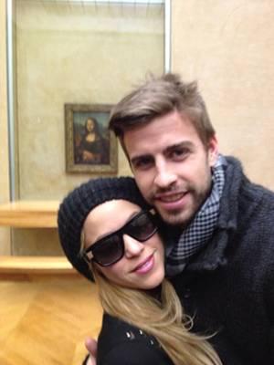Shakira e Piqué são pais de Milan, 11 meses (Reprodução/Twitter@3gerardpique)