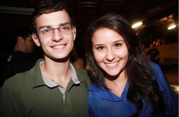 Gabriel Medeiros e Paula Lacerda (Lula Lopes/Esp. CB/D.A Press)