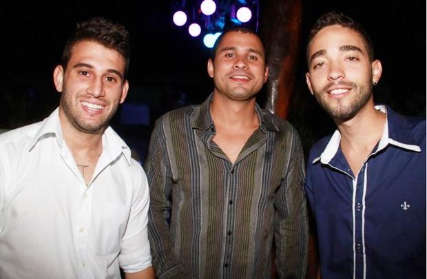 André Areias, João Gonçalves e João Herbett (Lula Lopes/Esp. CB/D.A Press)