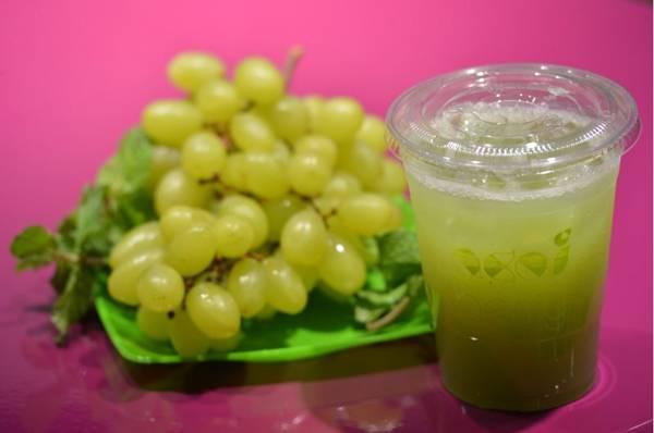 Suco arpoador: uvas verdes possuem ação antioxidante (Gustavo Moreno/CB/D.A Press)