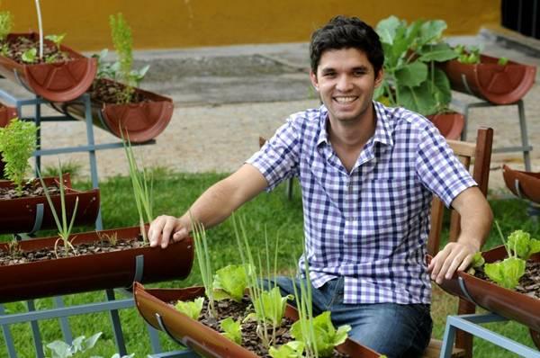 Chef Davi Neves, do Bistrô BioOn, da 303 Norte: cliente determina o valor do que consumir (Carlos Vieira/CB/D.A Press)