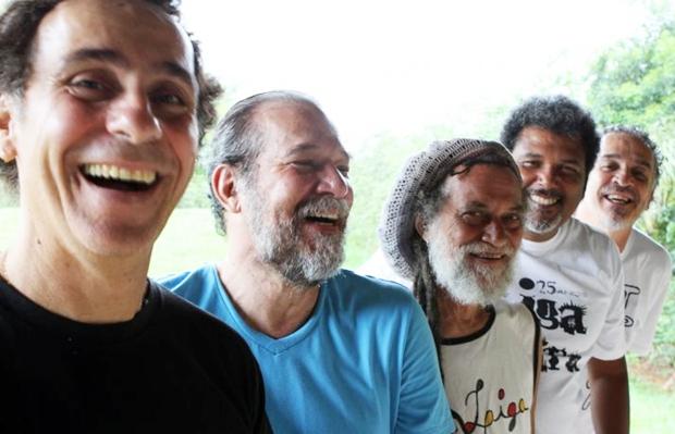 O grupo voltou aos estúdios em 2013 (Zé Nobre/Divulgação)