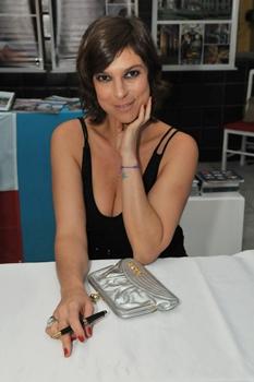 Maria Paula já escreveu um livro e atuou em Malhação  (Marcelo Ferreira/CB/D.A Press)
