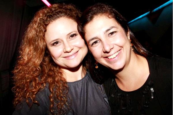 Liz Mendes e Cynthia Beberian  (Lula Lopes/Esp. CB/D.A Press)