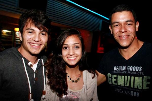 Victor Botelho, Greicy Duarte e Leandro Alcântara (Lula Lopes/Esp. CB/D.A Press)