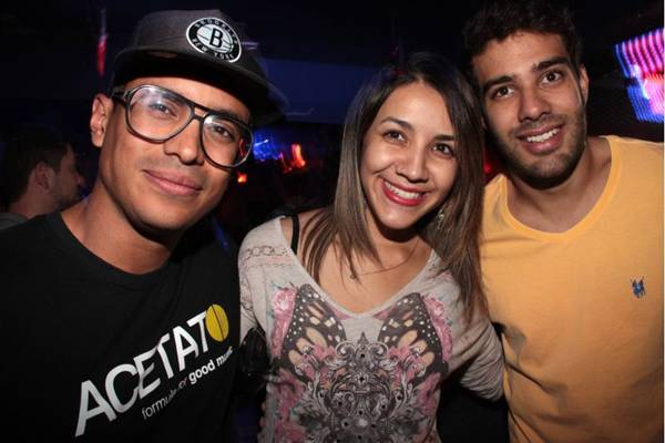 Alessandro de Souza, Camila Landim e Nicolas Almeida (Lula Lopes/Esp. CB/D.A Press)