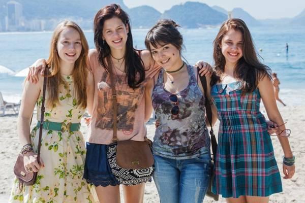 Elenco do filme Confissões de adolescente  (Sony Pictures/ Divulgação)