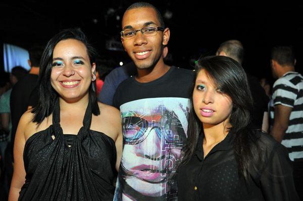 Andressa Saldanha, José Raimundo Santos e Vanessa Alves  (Luis Xavier de França/Esp. CB/D.A Press)