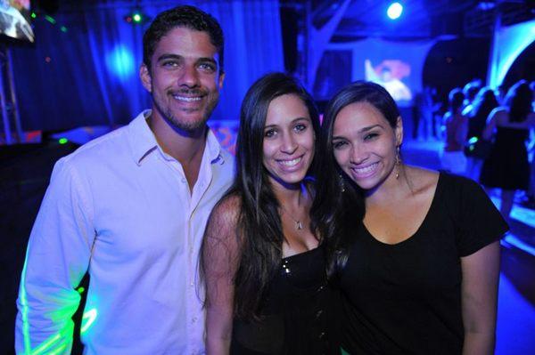 Luiz Felipe de Oliveira, Marianna Monteiro e Tainá Castro ( Luis Xavier de França/Esp.CB)