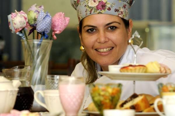Carol Spínola apresenta o café da manhã no La Chef (Carlos Vieira/CB/D.A Press)
