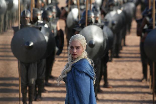Daenarys Targaryen foi uma das personagens que ganhou destaque na terceira temporada da série  (HBO/ Divulgação)