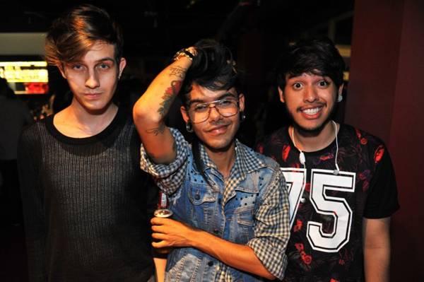Danilo Neves, Caio Magalhães e André Lucas  (Luis Xavier de França/Esp. CB/D.A Press)