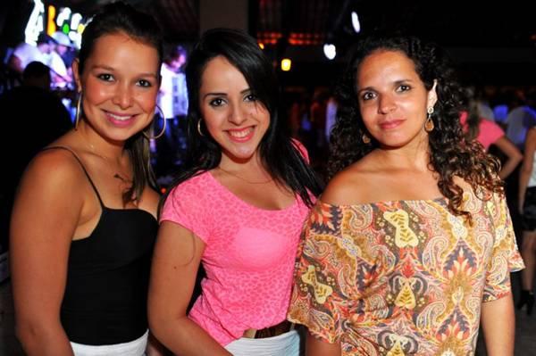 Aline Alves, Jéssika Valério Lima e Tatiana Campos  (Luis Xavier de França/CB/D.A Press)