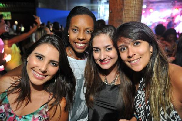 Patrícia Sousa, Valéria Diamile, Hyanne Ninburi e Jéssica Valença (Luis Xavier de França/Esp. CB/D.A Press)