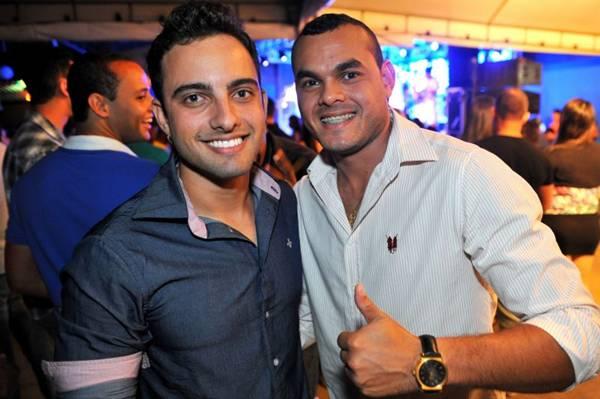 Felipe Miguel e Luciano Matoz (Luis Xavier de França/Esp. CB/D.A Press)