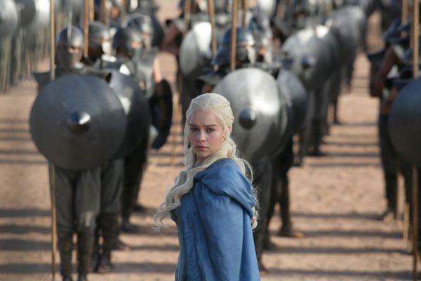 Daenarys Targaryen foi uma das personagens que ganhou destaque na terceira temporada da série  (HBO/Divulgação)