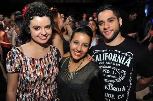 Alannah Tobias, Luísa Ferraço e Davi Alves (Luis Xavier de França/Esp. CB/D.A Press)