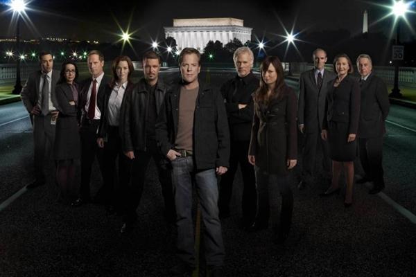 Elenco da série em americana, exibida entre 2001 e 2010 ( Fox Channel/Divulgacao)