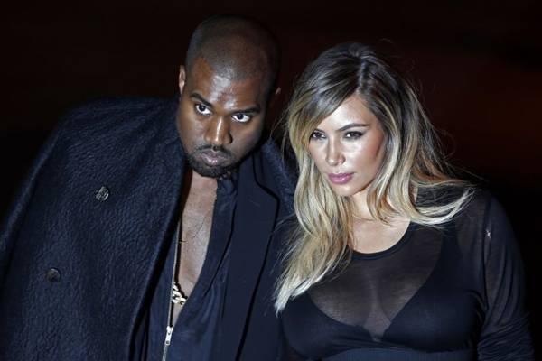 No ano passado, Kanye pediu a mão de Kim em casamento (Charles Platiau/Reuters)